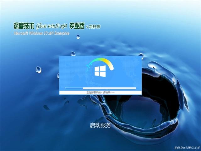 深度技术Ghost Win10 64位 经典专业版v2019.03