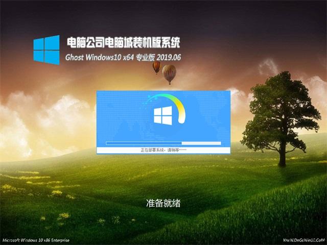 电脑公司Ghost Win10 64位 专业版v2019.06