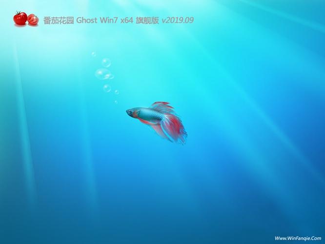 番茄花园GHOST WIN7 64位 通用旗舰版v2019.09