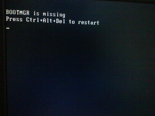 win10系统bootmgr is missing解决教程