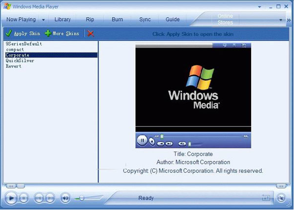 Windows Media Player简体中文版 v10.00.3802