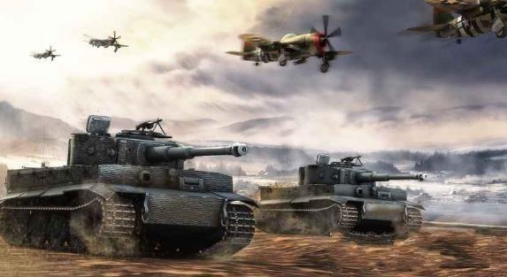 现代战场特种士兵