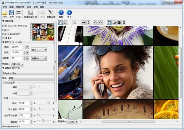 PhotoZoom Pro(图片无损放大软件) v8.0.4